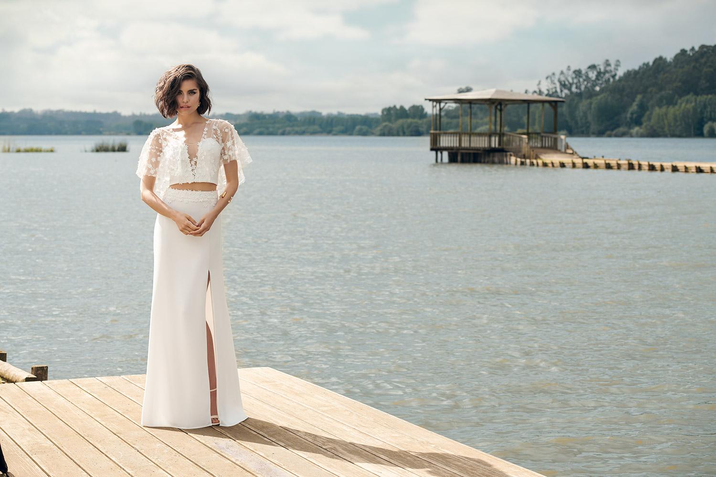 Renaux bridal dress - front