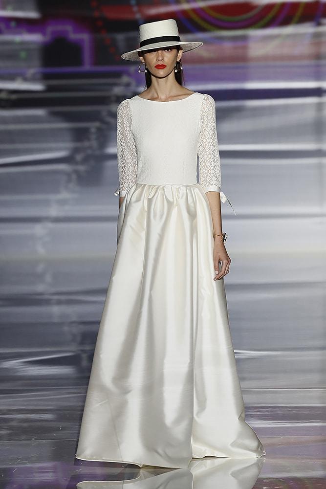 Albertina bridal dress - front