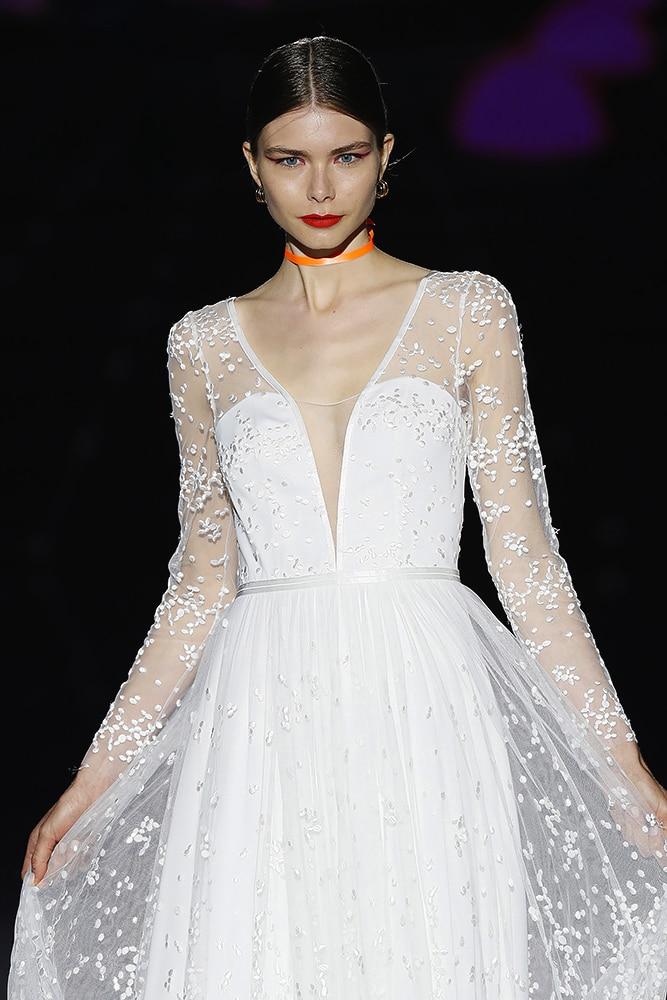 Moonlight dress - closeup