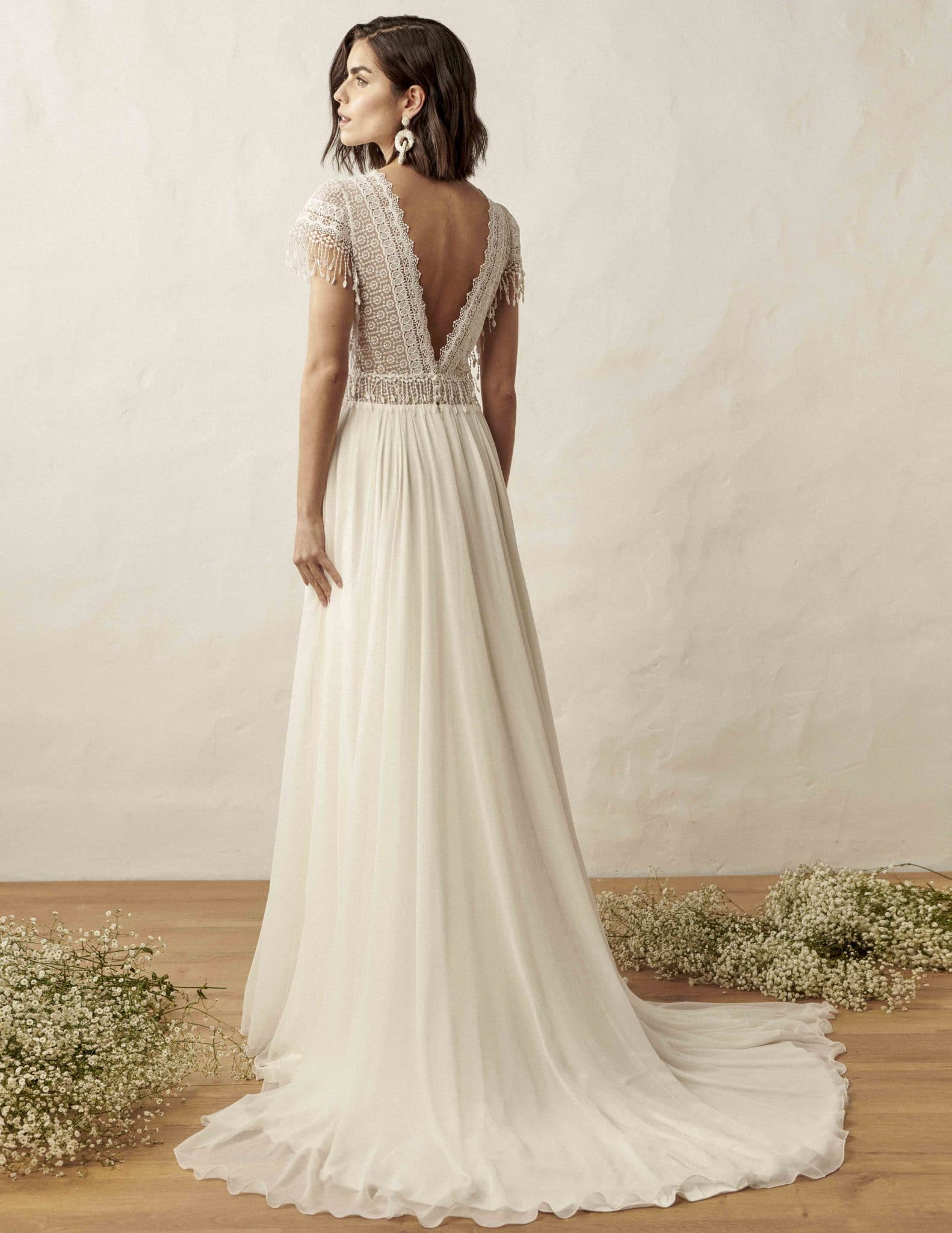 Craftsmanship For The Strong Confident Bride Marylise Bridal